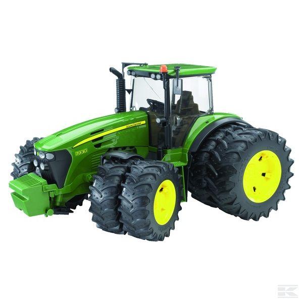Traktor John Deere 7930 s duplim kotačima Bruder dječja igračka
